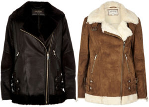 river-island-oversized-aviator-jacket-black-tan-acne-studios-velocite-dupes