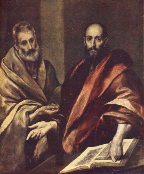 Эль Греко. Апостолы Петр и Павел