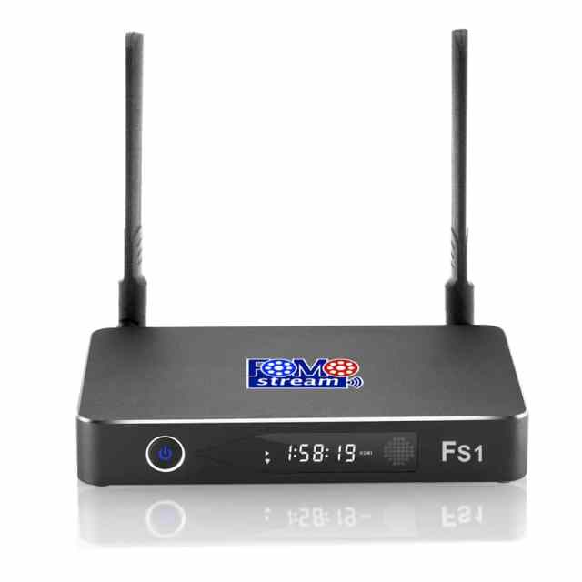 FOMOstream™ FS1 Android TV Box