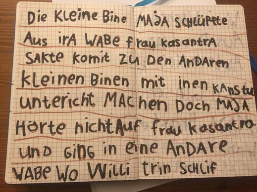 """Rechtschreibung – Das Konzept """"lesen durch Schreiben"""""""
