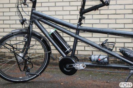 Santos Double Travel ombouwen tot elektrische fiets met Pendix eDrive FON Arnhem