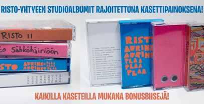 Risto Yhtyeen Studioalbumit Kasettina
