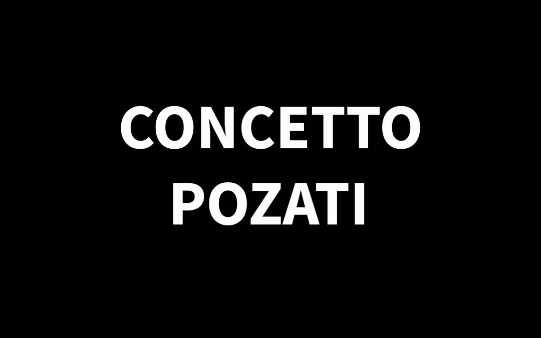 CONCETTO POZZATI1935 – 2017