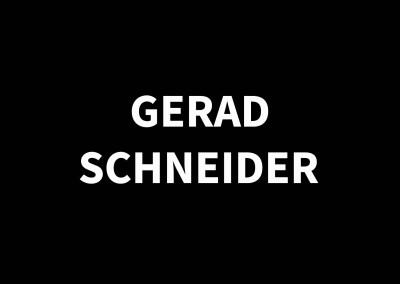 GERARD SCHNEIDER1896 – 1986