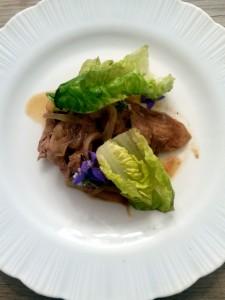 Filete de cerdo con tamarindo