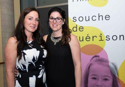 Photo de Julie et Marie-Ève d'Amours