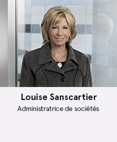 Louise Sanscartier - membre du comité À Votre Santé!