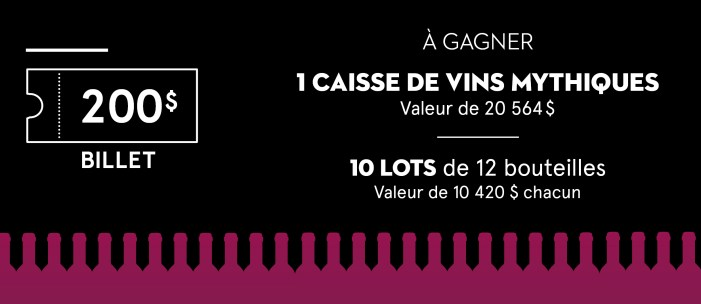 Tirage Montréal Passion Vin
