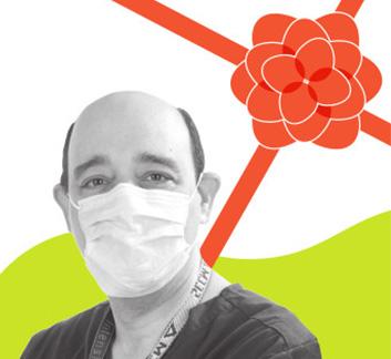 photo of Dr. François Marquis, Chief of the Intensive Care Unit at Hôpital Maisonneuve-Rosemont,