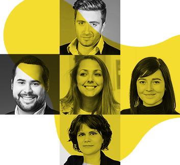 Comité relève : Gabriel, Marc-André, Stéphanie, Jade et Evelyne