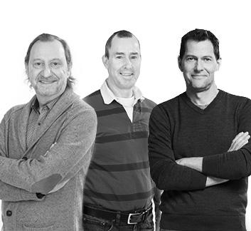 François Quenot, Eric Mackeage et André Papineau