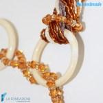 Collana Boop Caramel in vetro di Murano – COLL0039