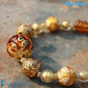 Collana Perla Vetrata in vetro di Murano - COLL0084