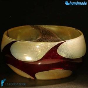 Bowl Onda Scura svuotatasche in vetro di Murano - BOWL0003