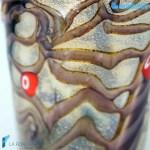 Goto Reticello Cioccolato in vetro di Murano – GOTI0029
