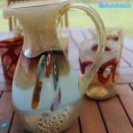 Servizio Monet da 6 Goti con Caraffa in vetro di Murano – GOTI0035