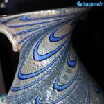 Caraffa Pavone blu in vetro di Murano – GOTI0039