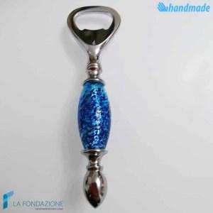 Blue Ocean Bottle Opener made in Murano glass - CAVA0014