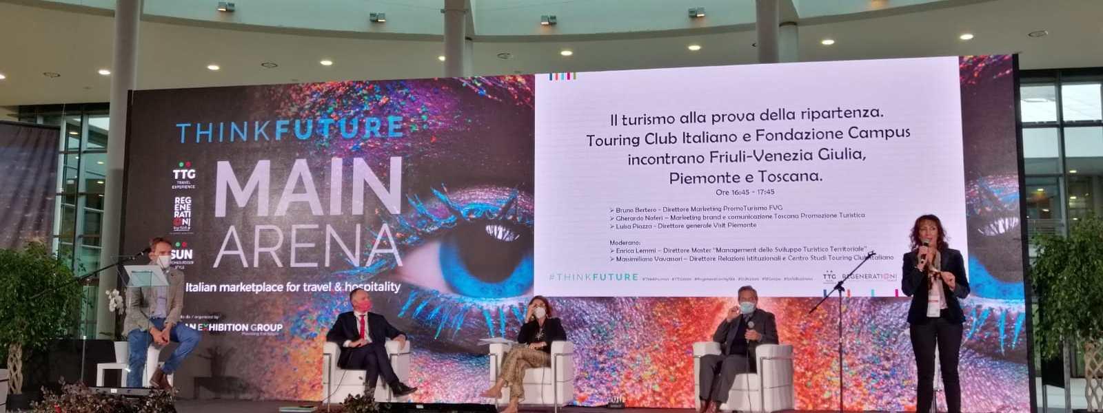 Fondazione Campus e Touring Club al TTG di Rimini