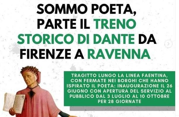#Focus – Comunità. In treno con Dante da Firenze e Ravenna. Senza fretta