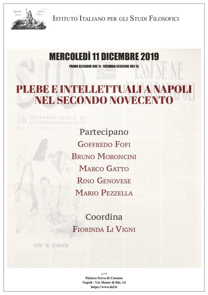 Plebe e intellettuali a Napoli nel secondo Novecento