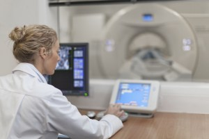 ct scanner and doctor