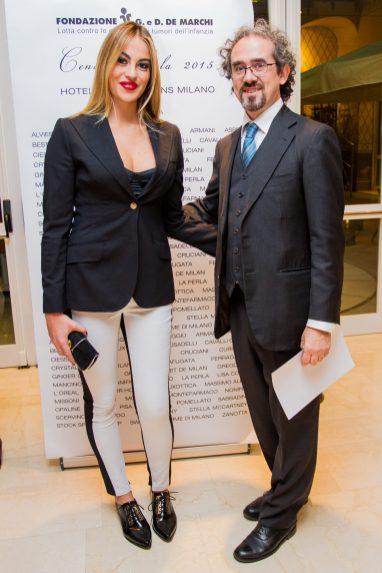 Francesco Iandola e Veronica Angeloni
