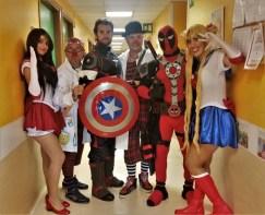super eroi reparto