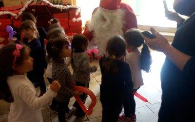 260 bambini per Babbo Natale