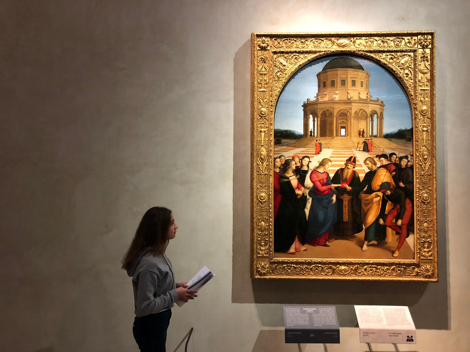 Nei panni dei professori tra i quadri di Brera