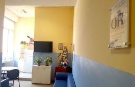 saletta del reparto Oncologia-Radioterapia-Ematologia