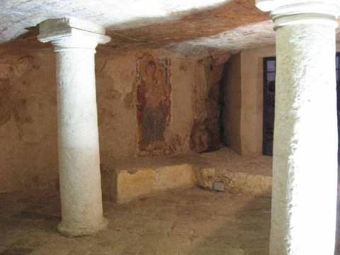 Una delle cripte salentine (Ugento)
