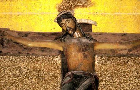 Il Crocifisso nero nella cattedrale di Nardò