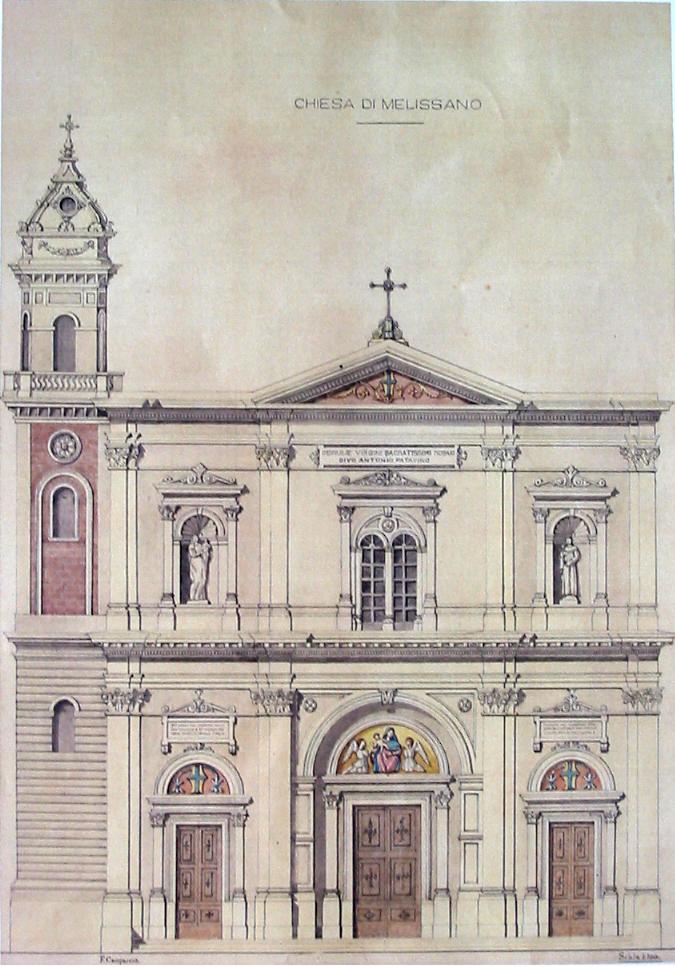 erezione della comunità religiosa tempio riguardo staccato a metropolitana terzo centenario