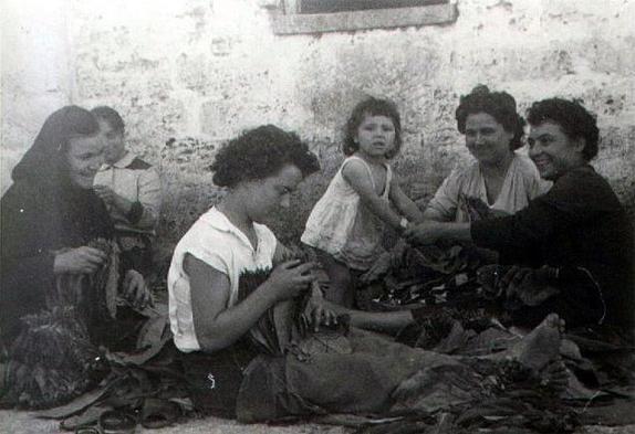 Spezzoni di vita salentina all'insegna del tabacco