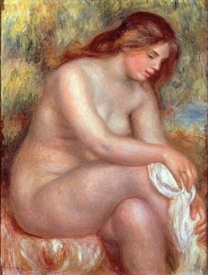 La bagnante, di Pierre August Renoir