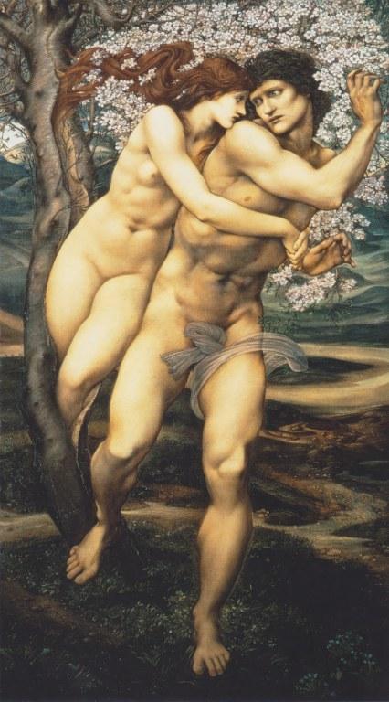 Edward Burne-Jones, The tree of forgiveness