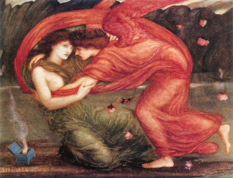 cupid_psyche Edward Burne-Jones