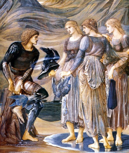 Edward Burne-Jones, Perseo e le Ninfe (1877)