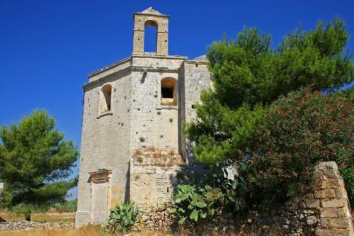 """La cosidetta """"chiesa del diavolo"""" di Tricase (ph di fiuru714, che ha partecipato al concorso nazionale dei comuni italiani)"""