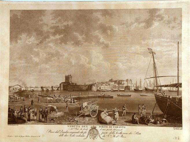 Taranto nel 1789, Incis. da Hackert