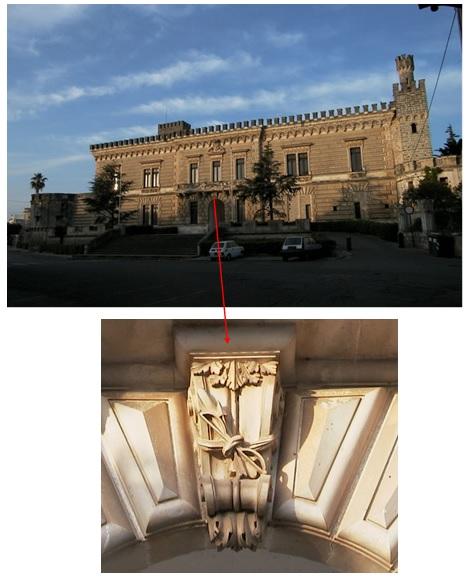 Quella seconda mensola del balcone del castello di Nardò … (1/6)