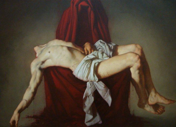 Deposizione, olio su tela, 2010