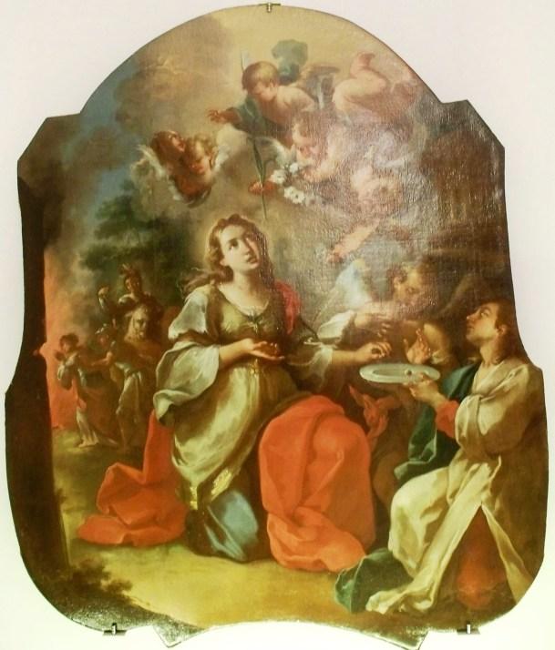 Martirio di Santa Lucia