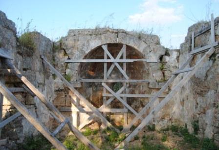 Taurisano, Oratorio don Bosco, Ruderi della chiesa di san Donato