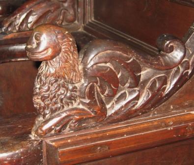 """Un """"bestiario"""" medievale sulle antiche travi della Cattedrale di Nardò (2)"""
