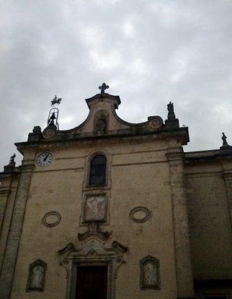 la chiesa matrice di Marittima