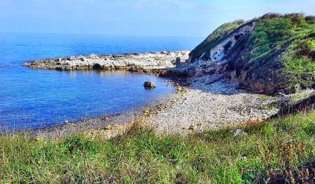 Otranto, la linea di costa minacciata dal nuovo porto