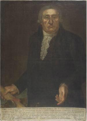 Anonimo. Ritratto di Giovanni Presta custodito nel Museo Civico Emanuele Barba a Gallipoli; immagine tratta da  http://www.culturaitalia.it/ms/viewer.php?id=oai%253Aculturaitalia.it%253Amuseiditalia-work_4495