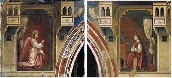 Giotto (1267 c.-1337), Cappella degli Scrovegni, Padova